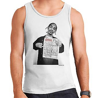 Snoop Dogg Daily Star Newspaper Men's Vest