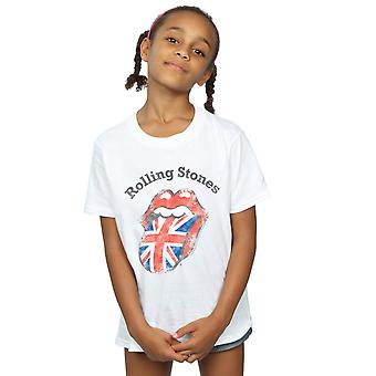 Rolling Stones Girls UK lingua t-shirt