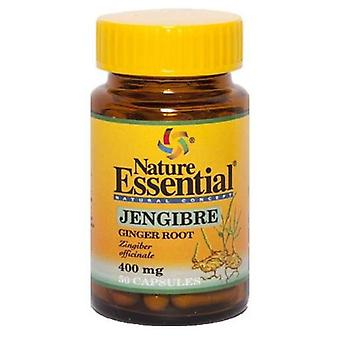 Nature Essential Ginger 400 Mg. 50 Capsules (Diet)