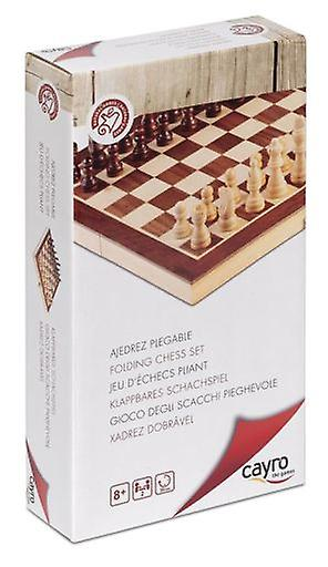 Cayro Foldable Chess N 2 (Spielzeuge , Brettspiele , Traditionell)