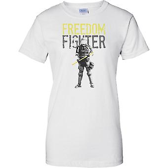 Freedom Fighter - Police State - Ladies T Shirt