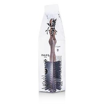 Philip B Medium 55mm rund børste (poleret mahogni håndtag 65% Orne børste + 35% Nylon) - 1pc
