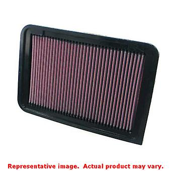 K&N Drop-In High-Flow Air Filter 33-2370 Fits:TOYOTA 2007 - 2007 CAMRY L4 2.4 2