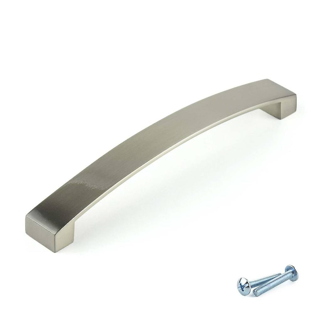 M4TEC Bow Kitchen Cabinet Door Handles Cupboards Drawers Bedroom Furniture Pull Handle Brushed Nickel. C7 series