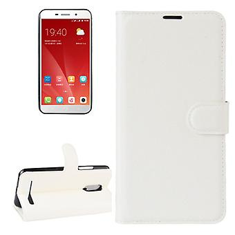 Pocket wallet premium white for ZTE blade A602 protection sleeve case cover pouch new