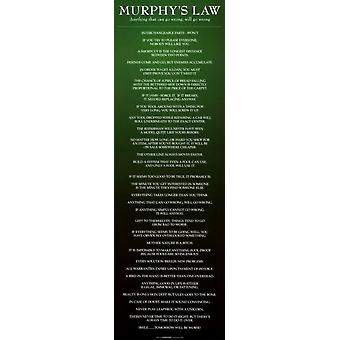 Murphys lov - Slim Print plakat plakat Print