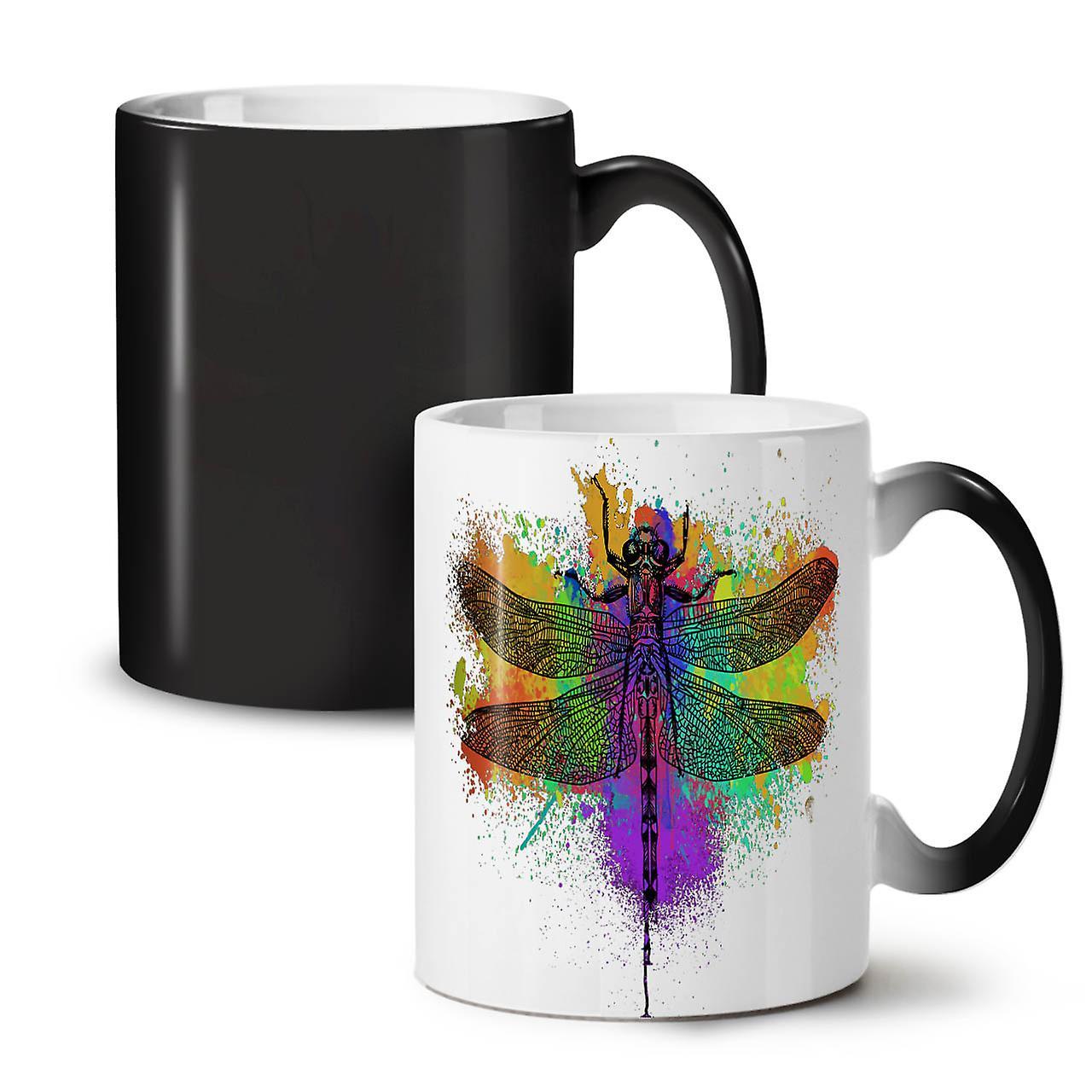 Black Mug OzWellcoda Animal Tea Colour Ceramic Insect 11 Coffee Changing Colorful New LMGSzVqUp