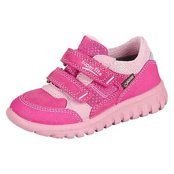 Superfit Sport Mini Pink Kombi Velour Tecno Textil 20019064   infants shoes