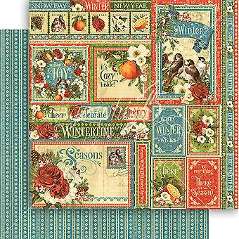 Seasons Double-Sided Cardstock 12
