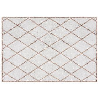 Washable mats scale-Brown-grey