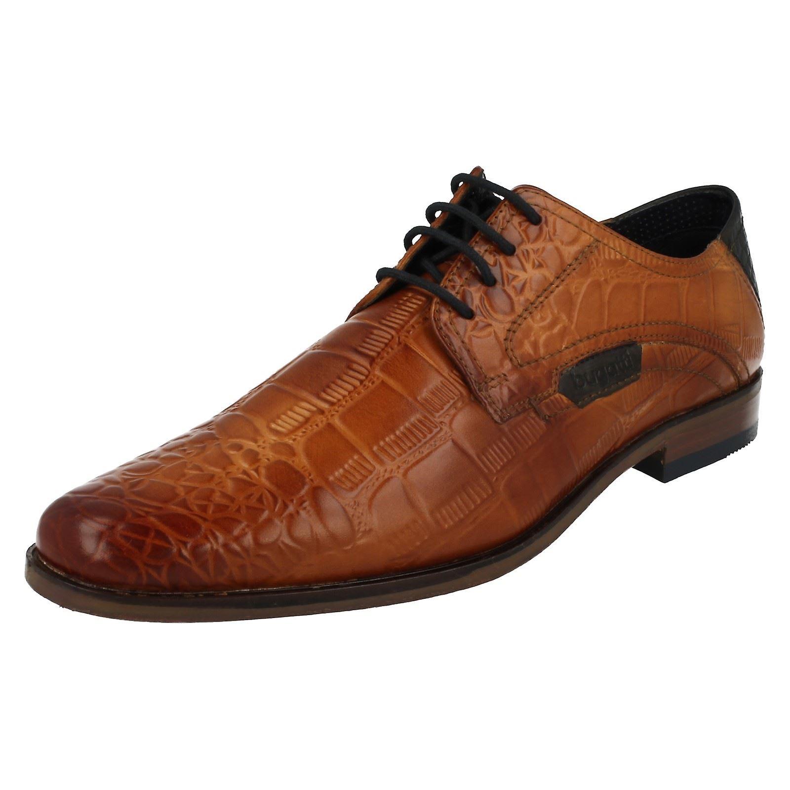 Mens Bugatti Smart Lace Up chaussures 15601