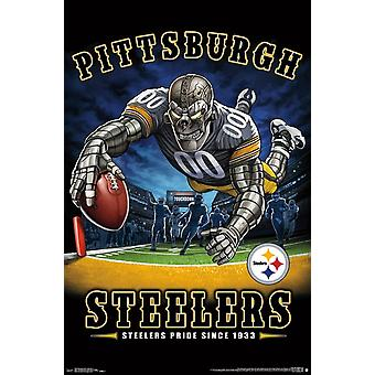 Pittsburgh Steelers - End Zone Poster Print