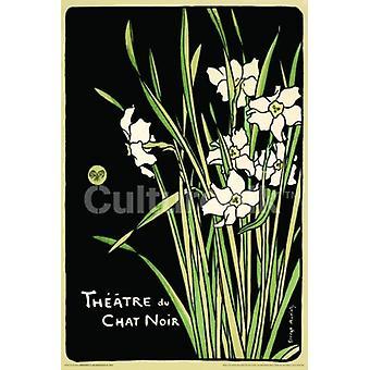 Theatre Du Chat Noir Poster Poster Print