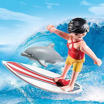 Playmobil especiais além de surfista com prancha de Surf