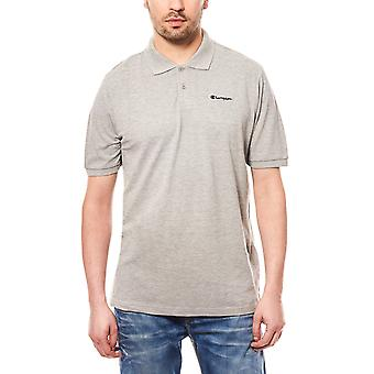 Champion polo shirt grey