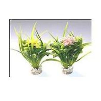 Sydeco Large Flower (Fish , Decoration , Artificitial Plants)