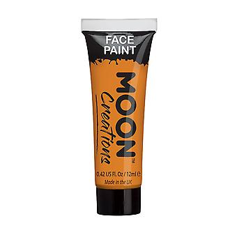 Face & Body Paint by Moon Creations - 12ml - Orange