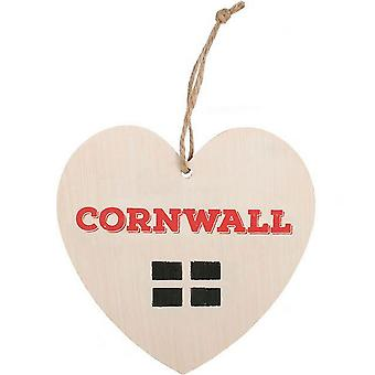 Something Different Cornwall Hanging Heart Sign