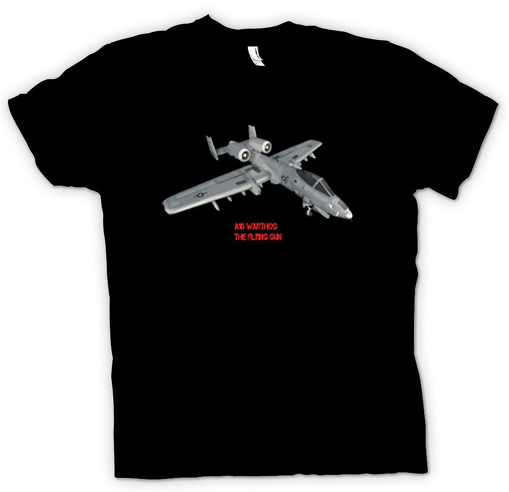 Womens T-shirt - A10 Warthog - The Flying Gun