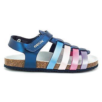 Geox JR Aloha Girl J821CC000NFC4268 universal summer kids shoes