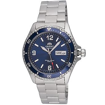 Orient watch Mako II diver mens Silber