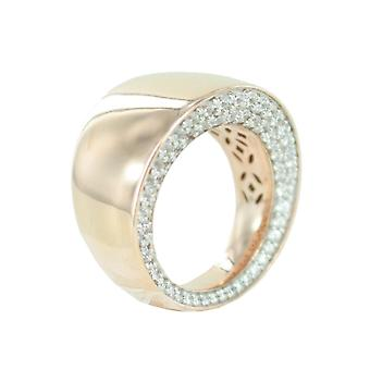 ESPRIT collection ladies ring silver Rosé cubic zirconia Ennea GR 19 ELRG92441B190