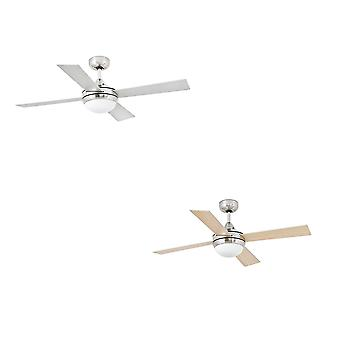 Ceiling fan light MINI ICARIA Nickel 107 cm / 42