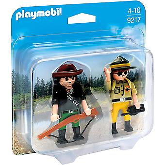 Playmobil 9217 Collectable Ranger and Hunter Duo Pack