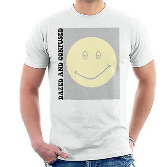 Betäubt und verwirrt Film Skript Silhouette Herren T-Shirt