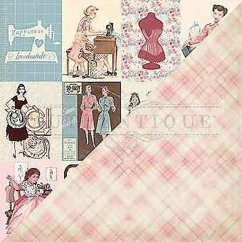 Stitches Double-Sided Cardstock 12