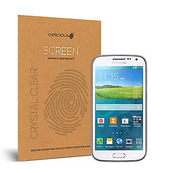 Celicious Vivid Invisible Glossy HD Screen Protector Film Compatible with Samsung Galaxy K Zoom [Pack of 2]