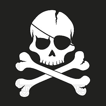 Pirates Black skull pirate skull and crossbones party napkins 33 x 33 cm 20pcs children birthday theme party