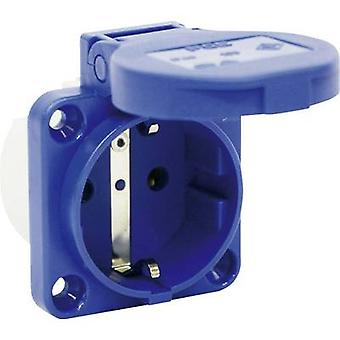 PCE 109-0b Add-on socket IP54 Blue