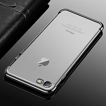 Cell phone cover case for Apple iPhone 7 / 8 transparent transparent silver
