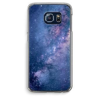 Samsung Galaxy S6 Edge Transparent Case (Soft) - Nebula