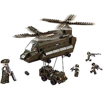 Kombat Military Bricks Transport Helicopter