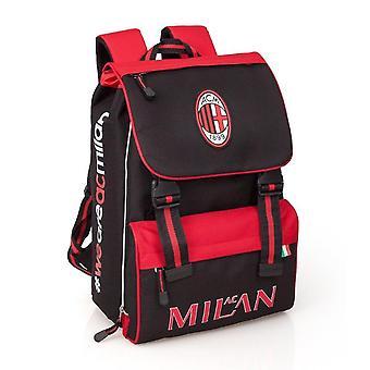 AC Milán tramo escolar mochila
