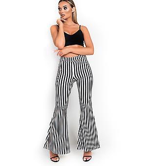 Pantalones de cintura alta para mujer Mishti de IKRUSH