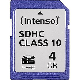 Intenso 3411450 SDHC card 4 GB classe 10