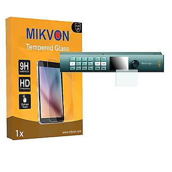 Blackmagic Smart Videohub CleanSwitch 12x12 Screen Protector - Mikvon flexible Tempered Glass 9H (Retail Package with accessories)