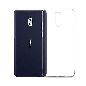 Nokia 2.1 gevaldekking van het transparante siliconen