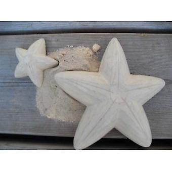 East of India Small Wooden Starfish Home Decorations