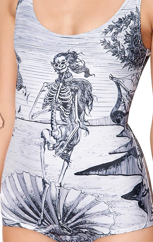 Waooh - Fashion - Shirt printed skeleton bath