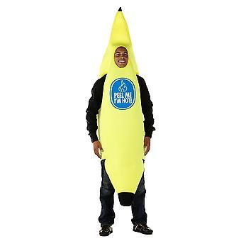 Bananen Anzug Kostüm Unisex Bananenkostüm Banana Suit