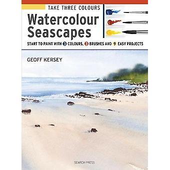 Tomar tres colores - paisajes de acuarela - inicio a la pintura con 3 Colo