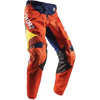 Thor Navy-Red-Orange 2017 Fuse Spring Propel MX Pant