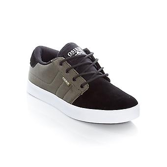 Osiris Dark Green-Black-White Mesa Shoe