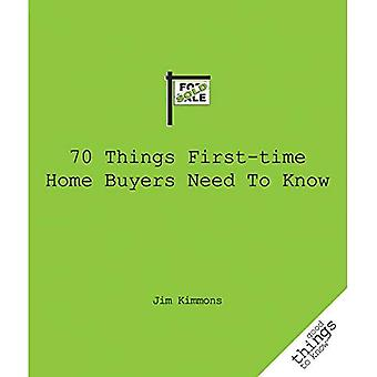70 Things First-Time Home Buyers Need to Know (Good Things to Know)