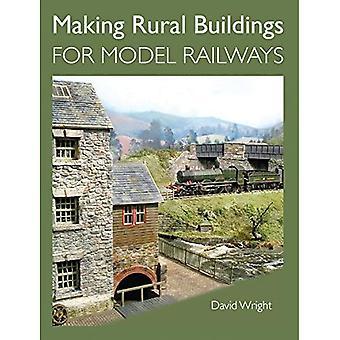 Hacer construcciones rurales para ferrocarriles modelo