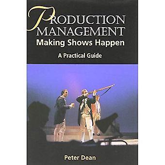 Gestión de la producción: Decisiones muestran sucede - una guía práctica